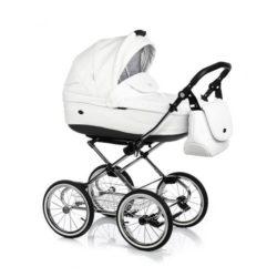 Детская коляска 3 в 1 Roan Emma (Белый)
