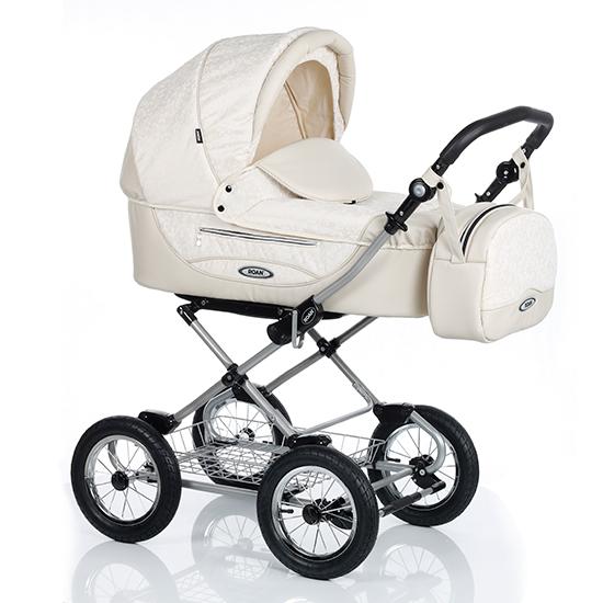 Детская коляска Roan Kortina 2 в 1 (Светло-бежевый)