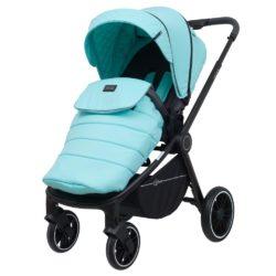 Детская прогулочная коляска Rant Flex Trends (Бирюзовый)
