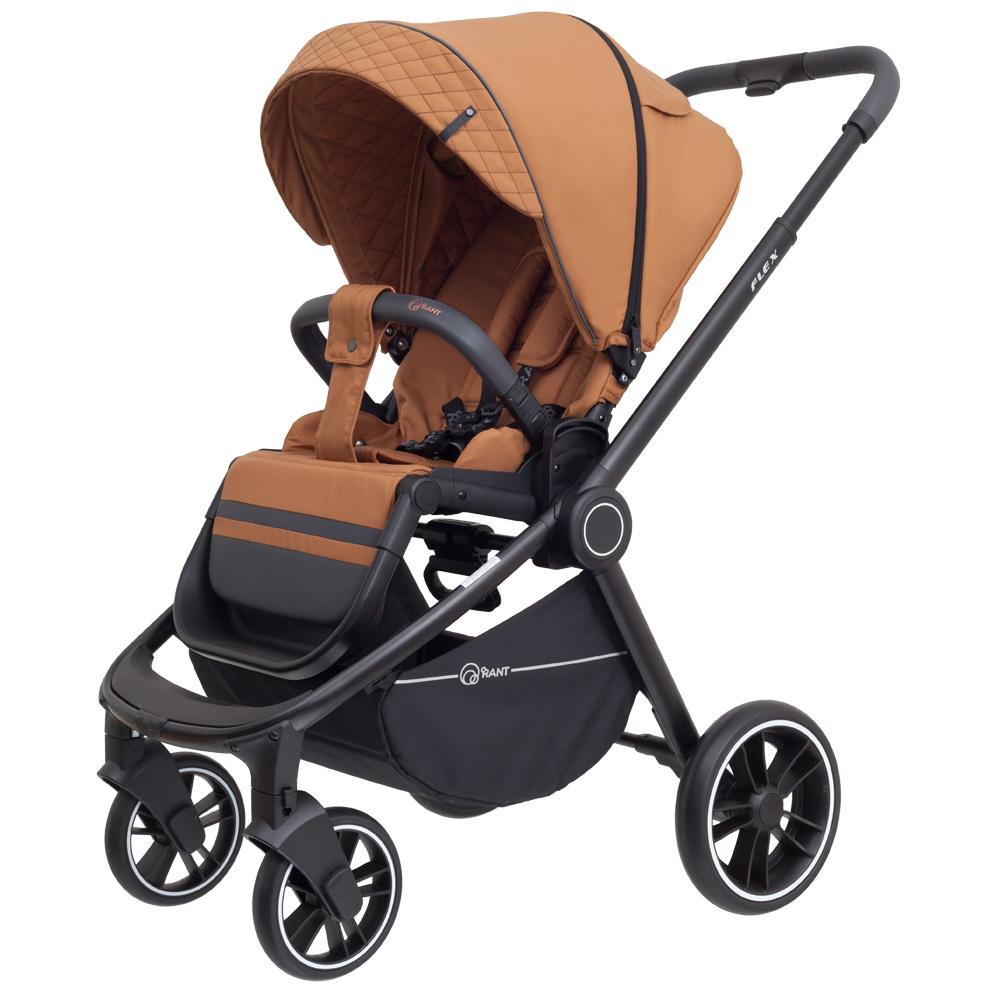 Детская прогулочная коляска Rant Flex Trends (Медный)