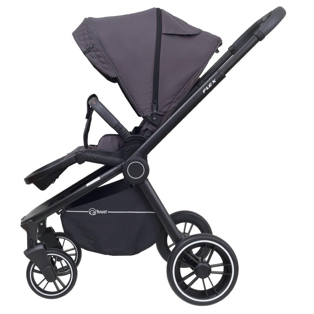 Детская прогулочная коляска Rant Flex Trends (Чёрный)