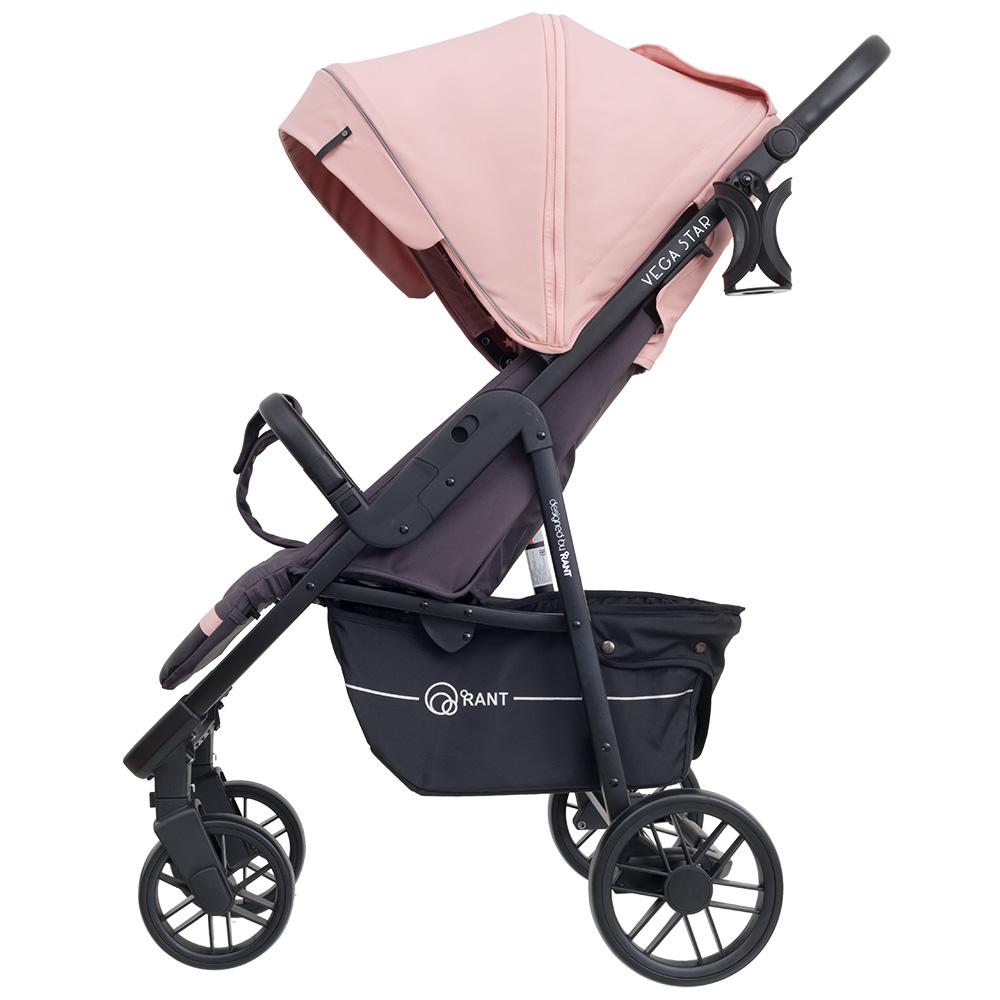 Коляска прогулочная Rant Vega Star /pink (Розовый)