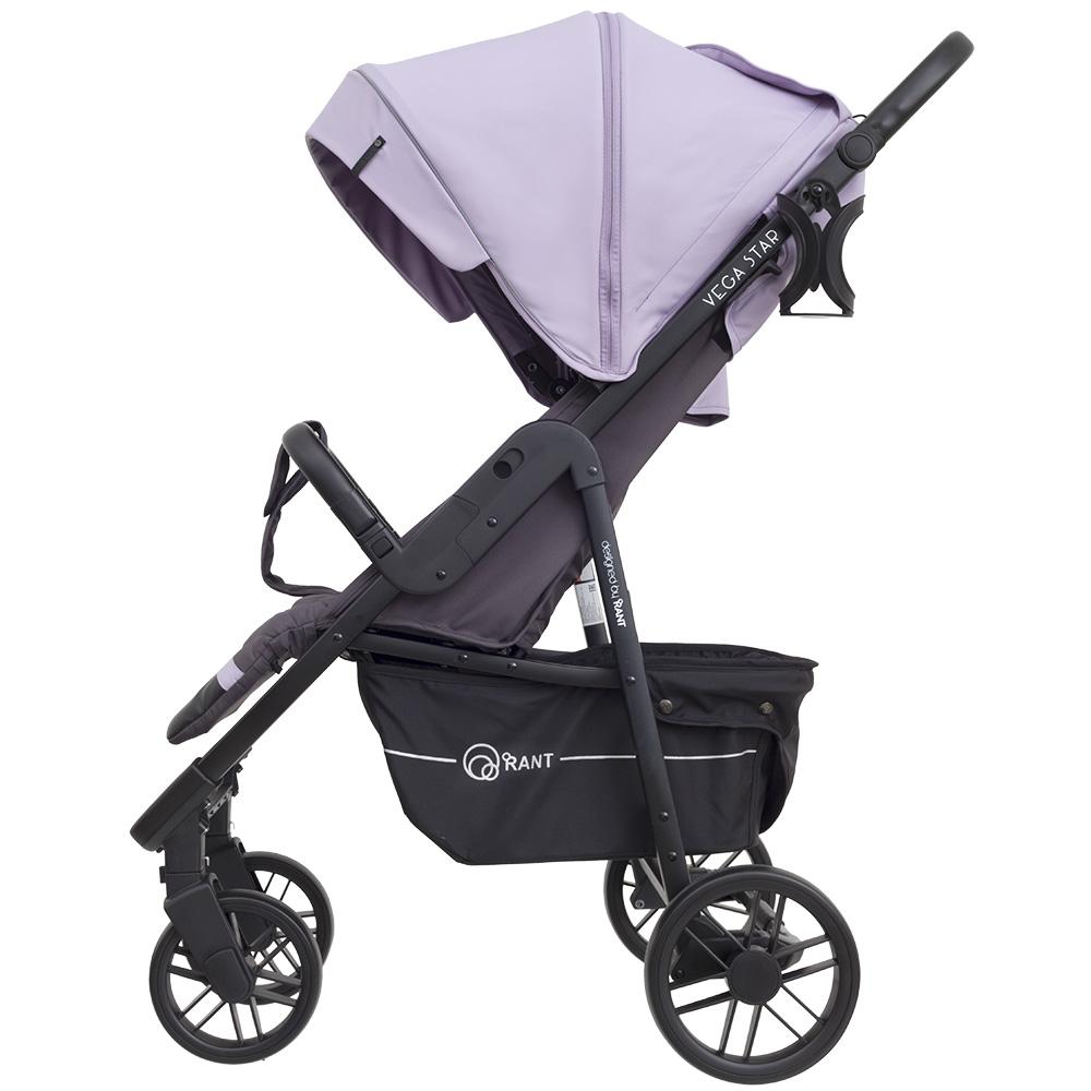 Коляска прогулочная Rant Vega Star/lavender (Фиолетовый)