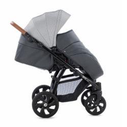 Детская коляска Tutis Aero 2 в 1 New 2019 №111 (Темный Серый) кожа