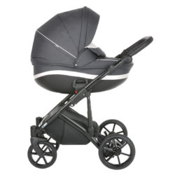 Коляска Tutis Mimi Style 3 в 1 New 2021 №042 Black Marble (Темно-серый)