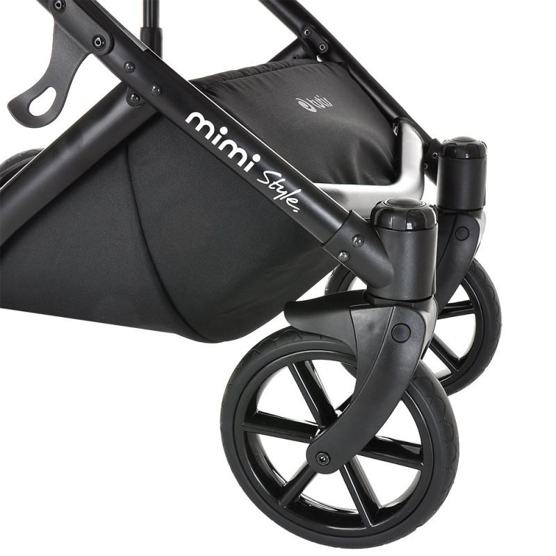 Коляска Tutis Mimi Style 3 в 1 New 2021 №059 Moonstone (Серый)
