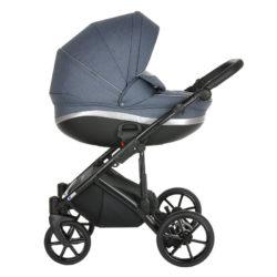 Коляска Tutis Mimi Style 3 в 1 New 2021 №060 Obsidian (Голубой)