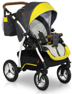 Прогулочная коляска Verdi Bello New2021 №09 (Черный/Желтый)